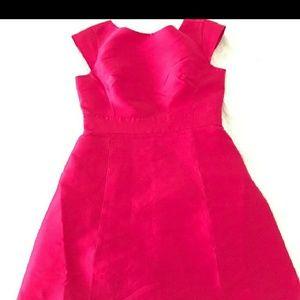 Kate spade silk pink dress